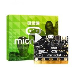 BBC micro: bit NRF51822 Bluetooth BRAÇO Cortex-M0, 25 DIODO EMISSOR de luz. UM computador para crianças iniciantes a programação, o suporte do windows, iOS etc