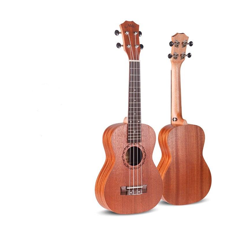 23 inch ukulele soprano 4 string guitar hawaiian small guitarra home schooling instrument unisex. Black Bedroom Furniture Sets. Home Design Ideas
