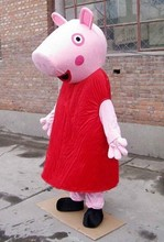 pink pig mascot costume for adult fancy dress charactor party mascot costume + Fast shipping 100% with the same picture
