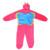Niños mariquita traje rosado de la mariposa del traje onesies niños de hadas de la fantasía disfraces fancy dress jumpsuit pijamas trajes de carnaval