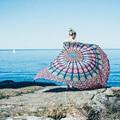 2016 Indian Mandala Tapestry Hippie Wall Hanging Tapestries Boho Bedspread Beach Towel Yoga Mat Blanket Table Cloth 210x148cm
