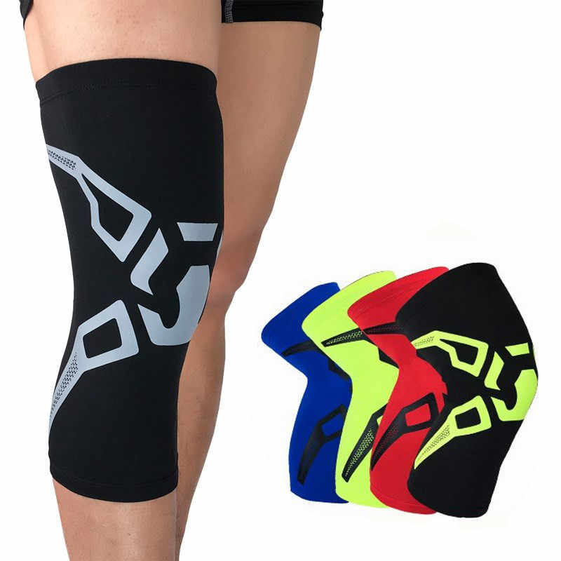 4f54b3fbb7 1 Pcs Knee Protector Knee Pads For Basketball Badminton Running Hiking All High  Elasticity Breathable Knee