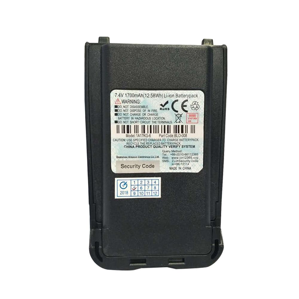 Original UV8D UV-8D Walkie Talkie Battery 7.4v 1800mAh LI-ON For WOUXUN UV8D UV-8D Two Way Radio