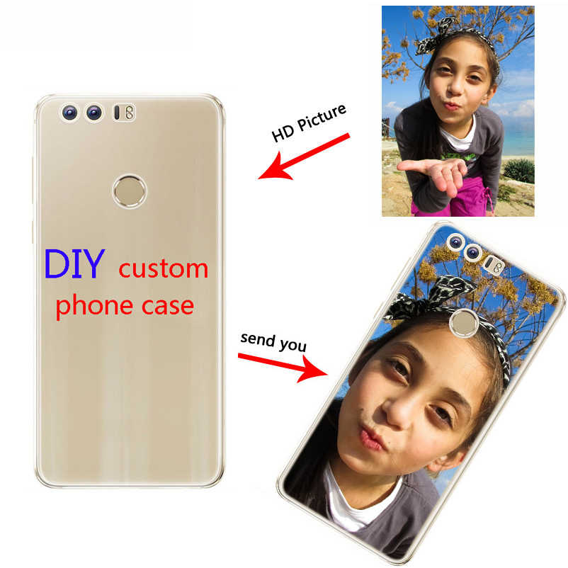Customized gift Custom Photo Phone case DIY picture Soft cover For huawei   Honor 9 10 lite Mate 9 10 20 lite pro X