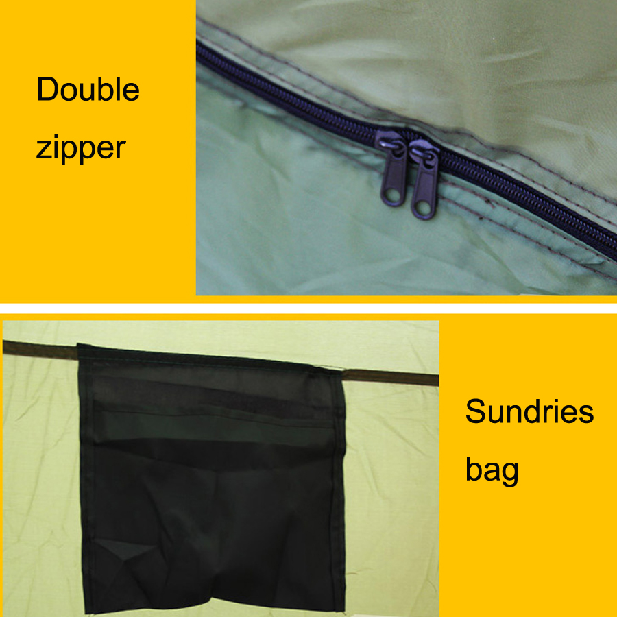 Ultralight Carp Shelter Ice Winter Fishing Tent (9)