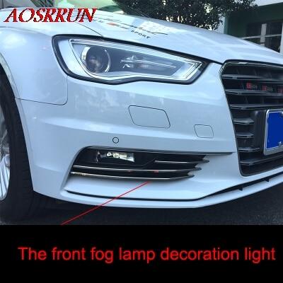 Lămpi de ceață față din oțel inoxidabil frontală de ceață - Accesorii interioare auto