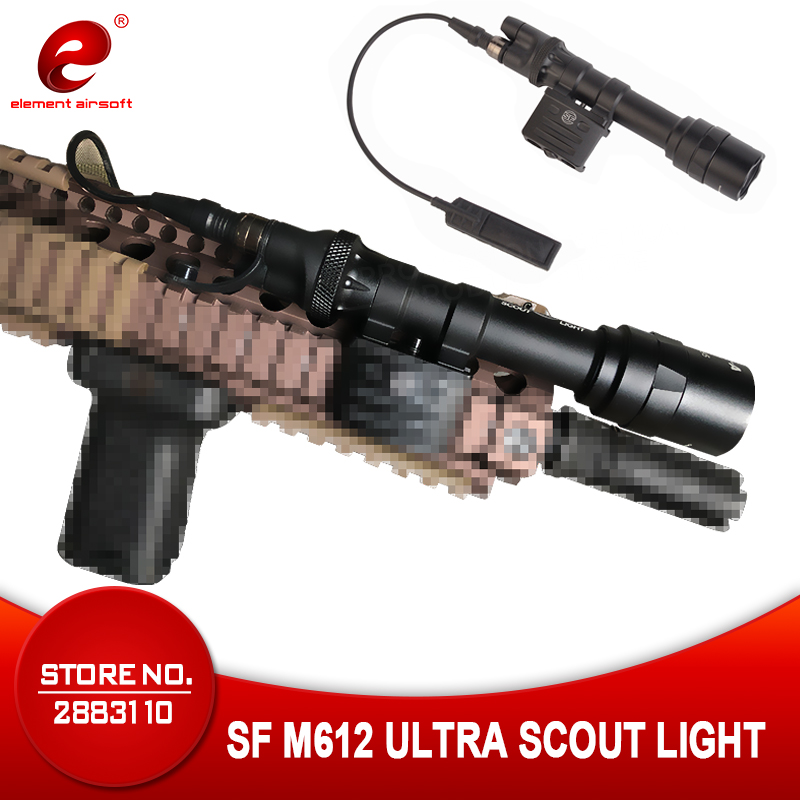 Element Tactical Surefir Flashlight M612 Ultra Weapon Light Super Bright 350 LM Light LED Version Hunting