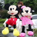 2pcs/lot  50cm Hot Sale Stuffed Mickey Mouse and Minnie Mouse A Pair Plush Toys Soft Animal Toys Dolls for Children's Gifts