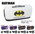 Bat man Deadpool IRON Style Makeup Cosmetic Brush Travel Bag Case Pen Pencil Pouch Purse Anime
