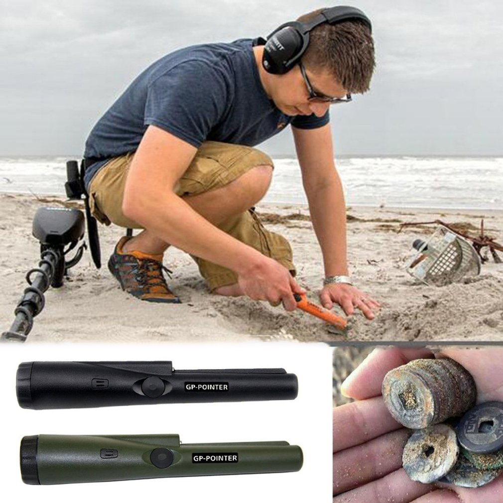 Professional Pinpointing Metal Detector GP-Pointer Gold Metal Detector Static Alarm With Bracelet