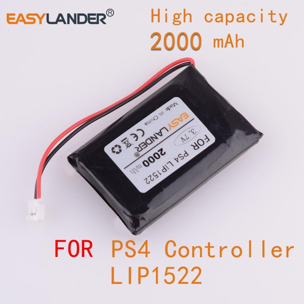 3,7 V 2000mAh аккумуляторная батарея для SONY Dualshock 4 V1 V2 беспроводной контроллер Playstation геймпад PS4 PS4 PRo slim LIP1522