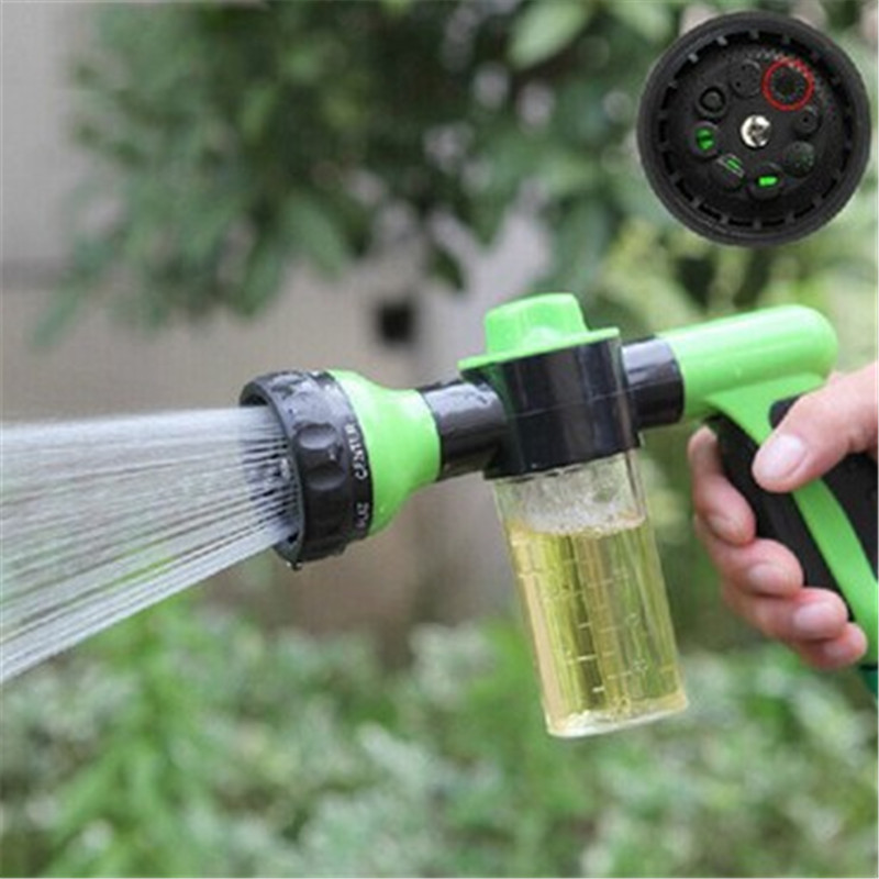 1pcs/3pcs 2017 Portable High Pressure Foam Washer Gun Multifunction Car Auto Wash Water Gun Car Cleaning Styling High Quality