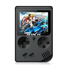 Coolbaby RS-6 A Retro Portable Mini Handheld Game Console 8-Bit 3.0 Inch Color LCD Game Player Built-in 168 games for Boys Gift