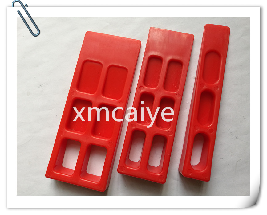 SM102 SM74 SM52 Paper Wedge For Printing Machine Red Color