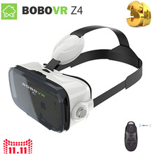 "WV Xiaozhai BOBO VR Z4 Mini Virtual Reality Glasses Gear 3D Glasses Google Cardboard for 4.7~6″ 4.7"" 5.5"" Smartphone"