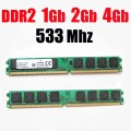 1Gb ddr2 533mhz RAM PC2 4200 RAM memoria DDR2 1Gb 2G 4 Gb 533Mhz / 533 ddr 2 1G 2Gb 4G 8Gb PC2-4200 -- lifetime warranty