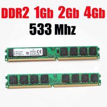 1Gb ddr2 533mhz RAM PC2 4200 RAM memoria DDR2 1Gb 2G 4 Gb 533Mhz / 533 ddr 2 1G 2Gb 4G 8Gb PC2-4200-ömür boyu garanti