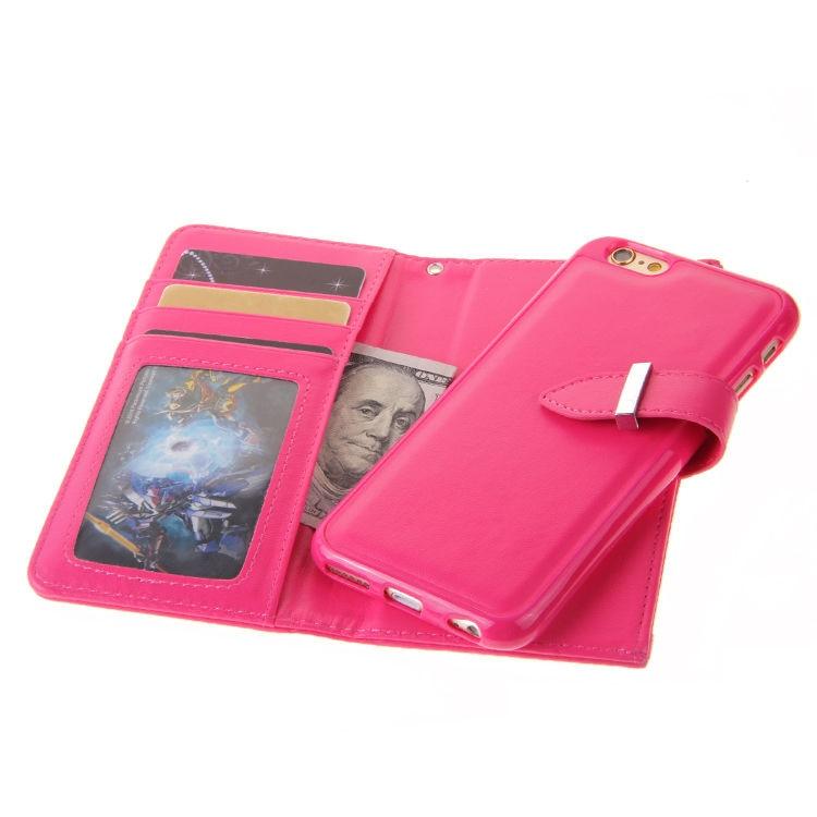 XINGDUO Magnet blixtlås läder plånbok avtagbar - Reservdelar och tillbehör för mobiltelefoner - Foto 6