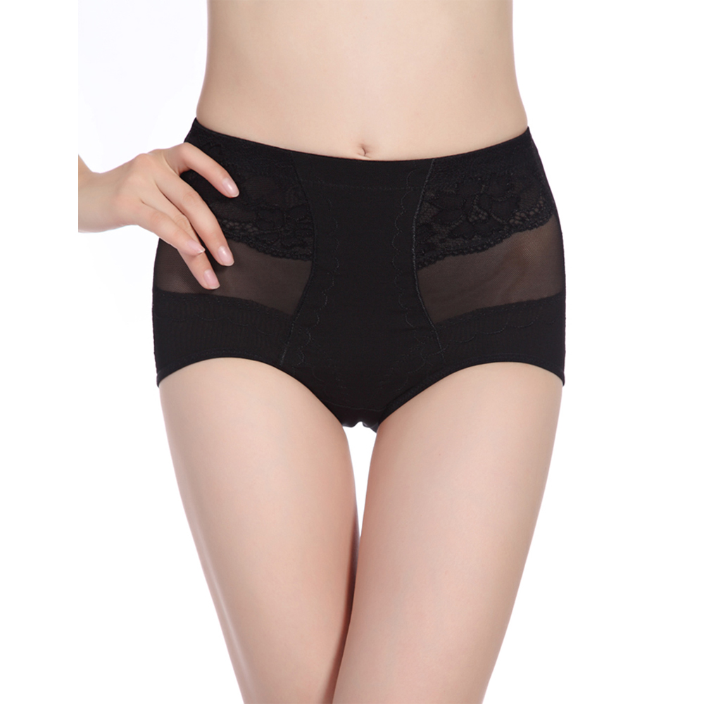 e12202796 2019 Women Mid Waist Body Shaper Panties Underwear Postpartum ...