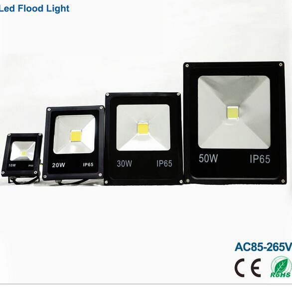10w 220v Led Flood Light Ip65 Waterproof Led Spotlight 20w