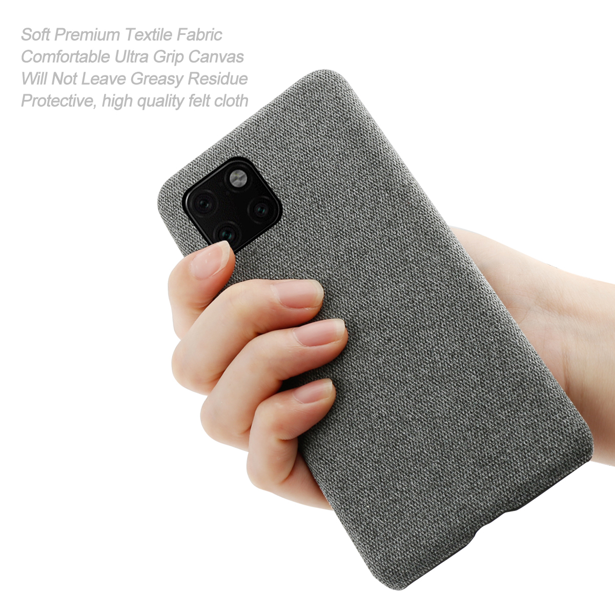 for iPhone 11 Pro Max 6 5 11 6 1 2019 Case Slim Back Hard PC Woven Shockproof Cloth Cover for iPhone X XS Max XR 5 5S SE Case in Half wrapped Cases from Cellphones Telecommunications