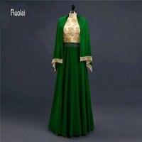 Фиолетовый золотой Кружево шифон Дешевые скромные линии одежда с длинным рукавом мусульманский хиджаб высокое Средства ухода за кожей Шеи