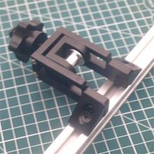 1 шт. алюминиевый CR-10S 4S 5s Y оси регулируемый механизм натяжения зубчатого ремня привода комплект для Creality CR-10 3D Принтер Бесплатная доставка
