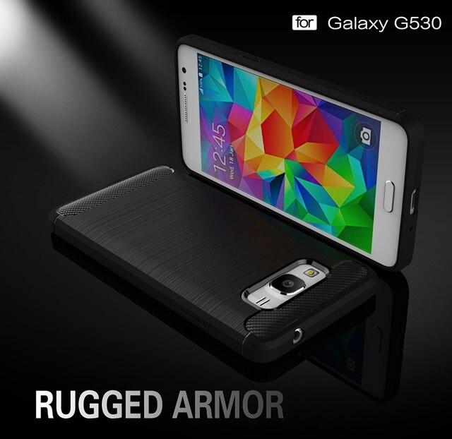 8ba4349d30bbf US $2.62 19% OFF Carbon Fiber Cover For Samsung Galaxy Grand Prime G530 SM  G530H G5308W G531H SM G531H G531F SM G531H/DS Case Fundas-in Half-wrapped  ...