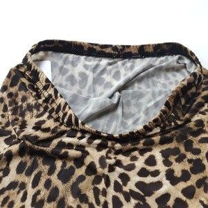 Image 5 - ผู้หญิงเซ็กซี่น้ำแข็งผ้าไหมเสือดาว Micro Mini กระโปรงแน่นกระโปรงดินสอ Sheer โปร่งใสกระโปรง Night Club แฟนตาซีกระโปรงเร้าอารมณ์สวมใส่
