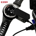 EZON Reloj Deportivo Original Cargador Cable USB Negro para T031 S2 S3 G1 G2
