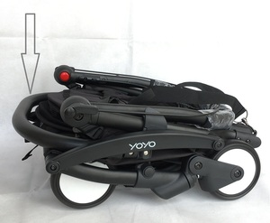 Image 3 - ベビーカーアクセサリーハイクラスのレザーアームレストbabyzenヨーヨー 2 yoya babytime vovo乳母車puバンパーバー手すり