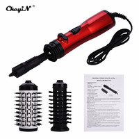 Automatic Rotating Brush Constant Temperature Hot Air Curler Comb Negative ionic Curling Iron Roller Hair Dryer Styling Tool P49