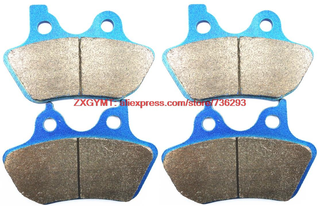 Sintering Motorcycle Disc Brake Pads Set fit Harley FXDLI1450 FXDLI 1450 Dyna Low Rider 2004