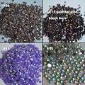 1000pcs 3mm New fashion Bling Jelly Nail Art gold hot AB Rhinestones Phone Case Shiny Beads Flat back