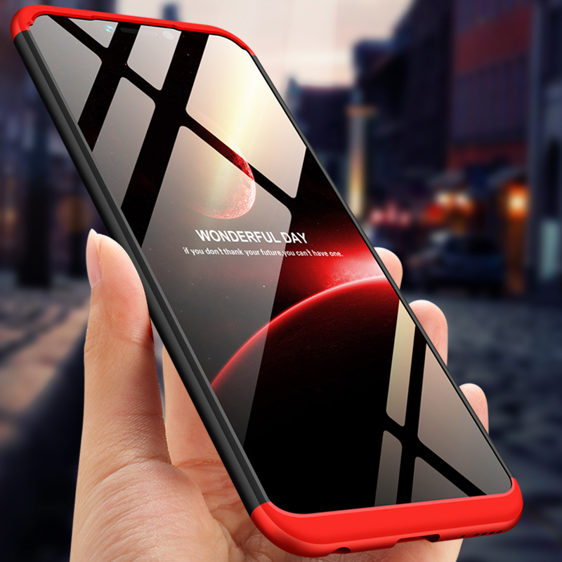 Case for Huawei Honor Play Case 6.3 inch Full-body Protection Hard Case 3-in-1 Design Matte for Honor play Cover Coque