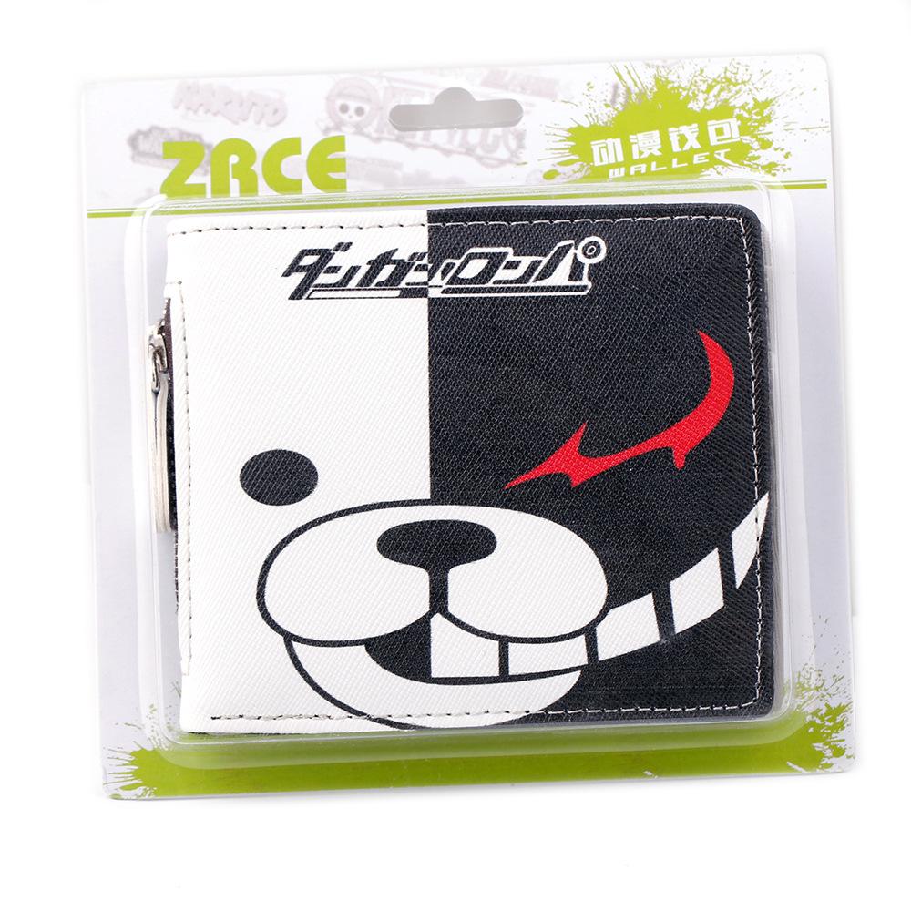 Danganronpa - Monokuma Short Wallet with Zipper