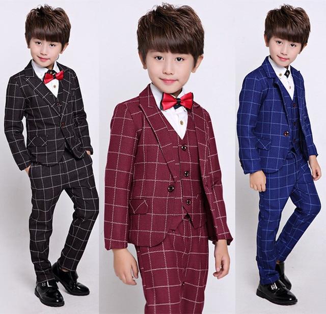 Veste Costume Enfant Robe Mince Gilet Formelle Garçons Blazers YxfqawRv