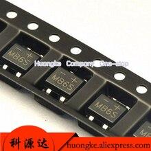 50 teile/los SMD Gleichrichter sop 4 brücke MB6F MB6S MB8F MB8S MB10F MB10S MB2S 500MA 200V 600V 800V 1000V