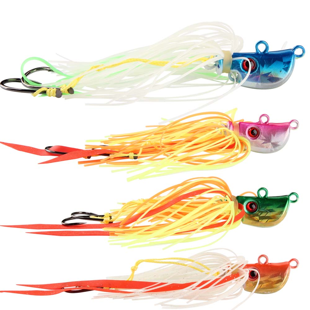 Silicone Skirts Rubber Squid Soft Fishing Lures Beard Jig Baits Part