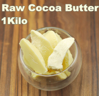 3.53oz Raw Cocoa Butter Base Oil Exquisite Natural ORGANIC Unrefined 1000g