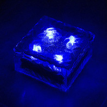 Luminaria LED Solar Light Garden ,Solar Power Led Deck Underground Lawn Light Outdoor Lighting Free Shipping