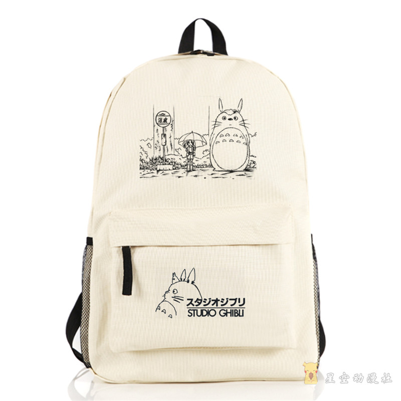 Totoro Fashion New Design Cosplay Shoulders Bag Teenager Students Backpack School Bag Free Shipping sosw fashion anime theme death note cosplay notebook new school large writing journal 20 5cm 14 5cm