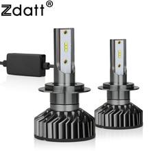 Zdatt H7 H4 H11 H1 LED Headlights Canbus Bulbs for Cars Lamp 9006 9005 HB3 12000LM 100W 6000K 12V 24V Auto Led Automobile