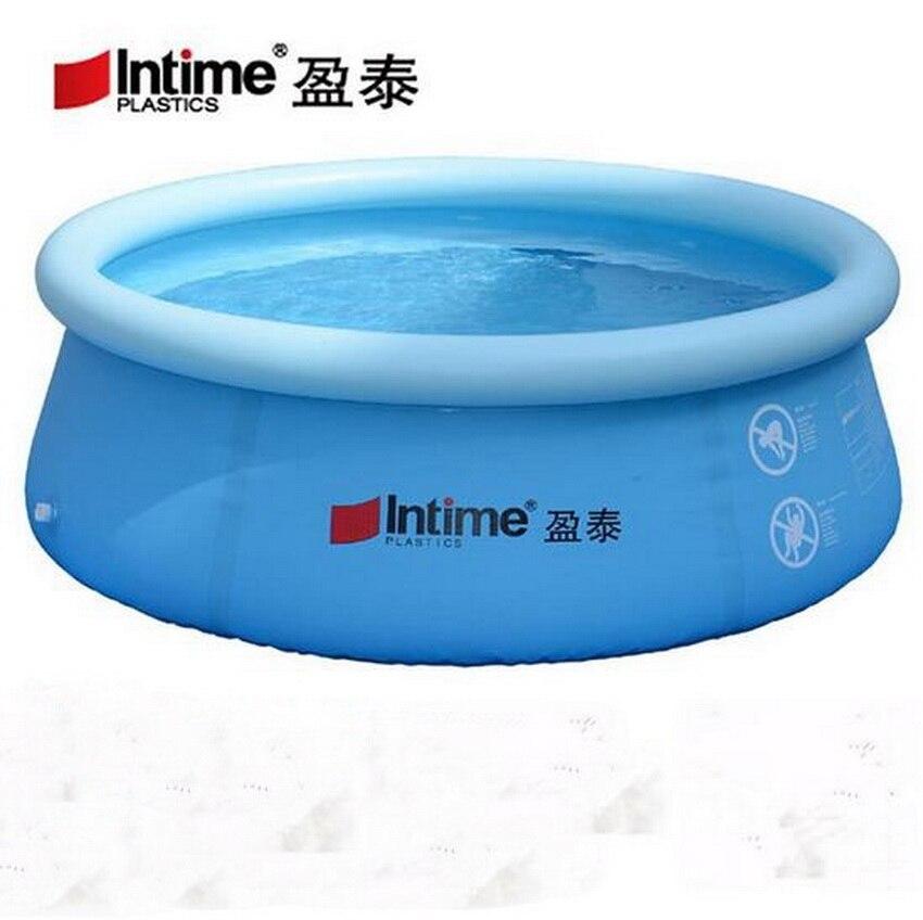 Piscine extérieure pour enfants familiale surdimensionnée, piscine adulte et enfant, piscine multijoueur stricte de sécurité gonflable