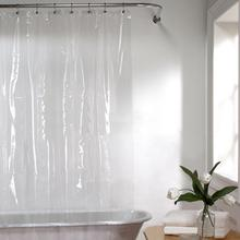 PENA Moldproof Waterproof Shower Curtain Bathroom Bath Eco-Friendly Transparent White Clear Bathroom Curtain Bathroom Products