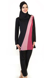 Image 4 - בגדים אסלאמיים בגדי ים ים אסלאמי בגדי ים מוסלמיים נשים סגנון חדש 3 צבע