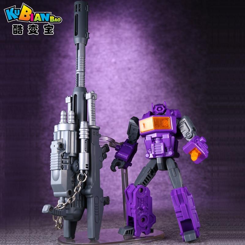 Transformation G1 TF KBB Shockwave Hand Make Assembly Model Action Figure Robot Boys Toys moskada накидка с объемным декором