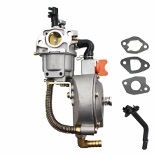 170F Dual Fuel Carburetor LPG/NG conversion kits generator For TONCO GX200 lpg carburetor for gasoline to lpg ng conversion kit lpg conversion kit for gasoline generator 5kw 6kw 188f 190f auto choke