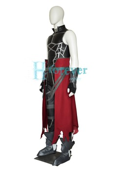 New Anime Fate Grand Order Archer Emiya Shirou Alter Cosplay Costume Outfit Set Halloween Costumes for Women/Men Custom Any Size 2
