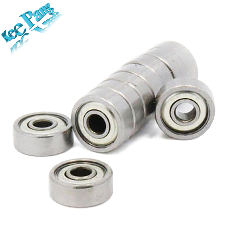 10pcs/lot Ball Bearings 623ZZ 3x10x4mm Part 623-ZZ Wheel Miniature Deep Groove 3D Printers Parts 623 ZZ Pulleys Stainless Steel пуговицы zz 100 diy